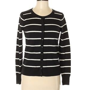 Old Navy Sweaters - B/W Old Navy Cardigan